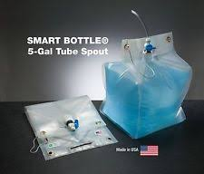 5 Gallon Water Bottle With Faucet Collapsible Water Container Ebay