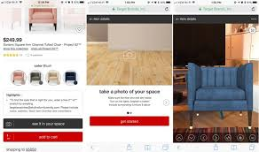 target furniture target u0027s mobile website gains augmented reality feature for