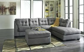 2 Piece Leather Sofa by Brown Distressed Leather Sofa Benchcraft Maiercharcoal 2piece