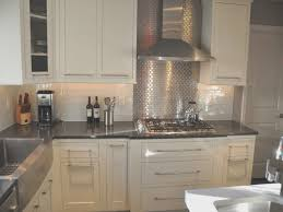 kitchen with stainless steel backsplash backsplash awesome stainless steel kitchen backsplash panels