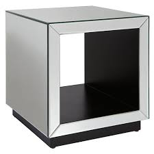 cube mirror side table buy john lewis astoria mirrored cube side table mirror online at