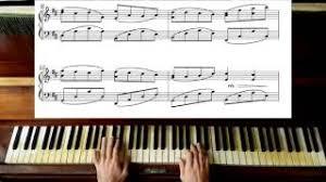 tutorial piano canon download canon in d johann pachelbel piano batyoutube com