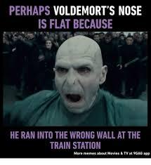 Nose Meme - 25 best memes about voldemort nose voldemort nose memes