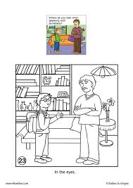 good manners coloring pages hellokids com