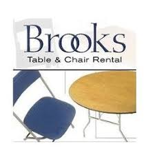 Table Chair Rental by Brooks Table Chair U0026 Tent Rental Party Equipment Rentals