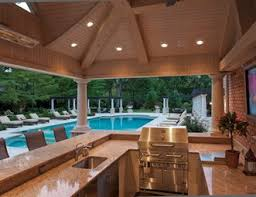Backyard Kitchen Designs Outdoor Kitchen Pictures Gallery Landscaping Network