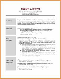 Sample Resume Objectives Call Center Representative by 8 Examples Of Resumes Objectives Resume Reference