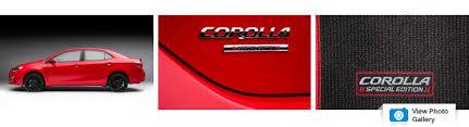 toyota corolla special edition 2016 2016 toyota corolla special edition photos and info car