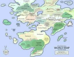 Fantasy Maps The Only Fantasy World Map By Eotbeholder On Deviantart
