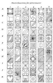 how to make a zendoodle pattern sheet for zentangle zentangle zendoodle patterns