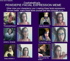 Pewdiepie Meme - pewdiepie expression meme by kappaskulljoke on deviantart
