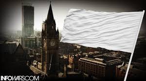 england runs up white flag for isis youtube