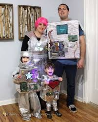 Halloween Costumes Robot 25 Robot Costume Images Robot Costumes