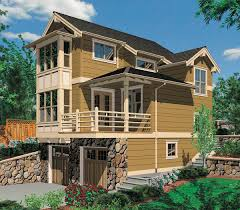 100 house plans for sloping lots 332 best floor plans house plans for sloping lots two story one bedroom plan for sloped lot 69146am