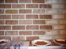 painting brick fireplace from white to beautiful brownstone