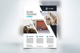 real estate flyer examples real estate flyer flyer templates creative market