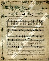5 best images free printable vintage christmas sheet music