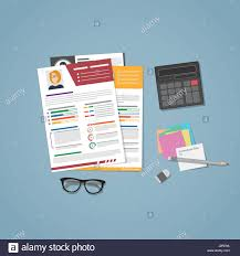 linen resume paper resume objective samples for any job sample resume paper a few cvs for hiring in flat style managers workplace for