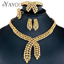 necklace jewelry australia images Ayayoo jewelry sets dubai gold color african beads jewelry set for jpg