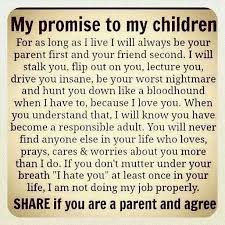 Parenting Advice Meme - promise to my children meme parenting parenting advice