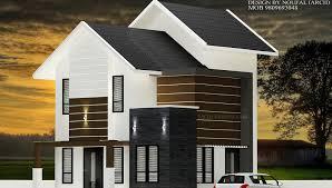1200 square feet double floor modern budget home design