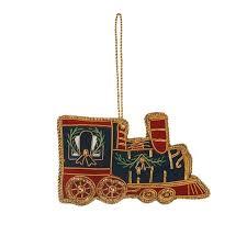 navy red u0026 gold train christmas decoration fortnum u0026 mason