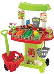cuisine ecoiffier ecoiffier 1225 imitations chariot supermarché garni coloris