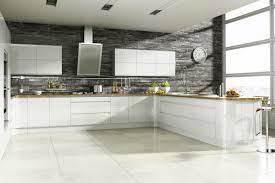 Contemporary Kitchen Backsplash by Kitchen Backsplash White Stained Wooden Country Kitchen Cabinet