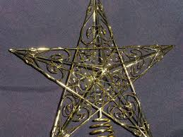 christmas decorations large gold star swirls tree dma homes 63432
