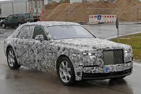 roll royce road next gen rolls royce phantom spotted by car magazine
