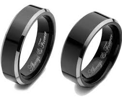 men promise rings wedding band set etsy