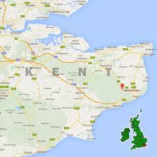 Map Of Kent England by Contact Absolute Graphix In Dover Kent England