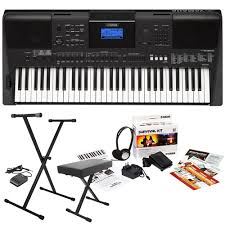 Keyboard Stand And Bench Yamaha Psr E453 61 Key Portable Arranger Keyboard With D2 Survival
