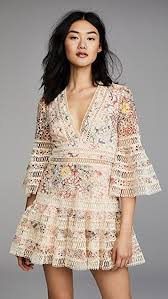 flutter style dress zimmermann lovelorn floral flutter dress shopbop