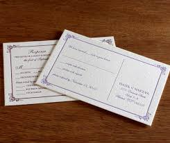 Wedding Invitations With Rsvp Going Green With Wedding Invitations Rsvp Postcards Save Time And