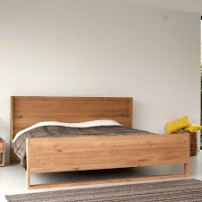 Solid Wood Bedroom Furniture Ethnicraft Nordic Oak Bed Solid Wood Furniture Bedroom
