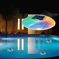 solar swimming pool lights floating pool lights create a unique lighting experience in your