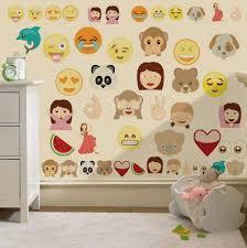 large number wall stickers childrens bedroom nursery ebay blog childrens emoji emoticons wall stickers decals nursery boys girls wall stickers childrens bedroom