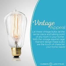 touch l light bulbs antique vintage edison bulb 4 pack 60 watt hudson lighting 60