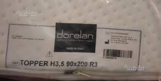 dorelan materasso topper materasso memory foam dorelan h 3 5 90x200 arredamento e
