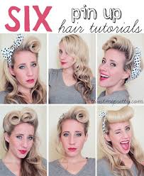 www hairstyle pin best 25 50s hair tutorials ideas on pinterest rockabilly hair