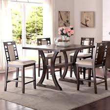 tall kitchen table and chairs tall dining set 5 piece counter height dining set tall dining table
