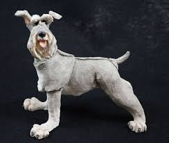 a breed apart schnauzer country artists figurine willitts 70020