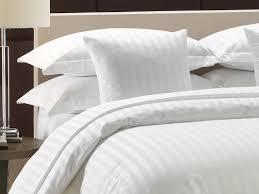satin stripe solid duvet cover manufacturer and supplier for