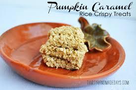rice crispy treat pumpkins pumpkin caramel rice crispy treats
