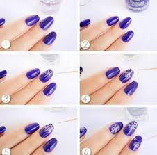 easy nail art designs at home easy nail art designs step step at