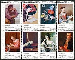 Apply Universal Postal Union International Letter Writing Works Of On U S Sts 1974 Universal Postal Union