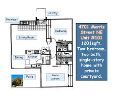 Cnm Montoya Campus Map Greenspaces Abound Around Oso Park Condominiums 4701 Morris St Ne