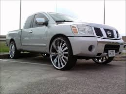 nissan trucks 2005 nissan titan on 28 u0027s youtube