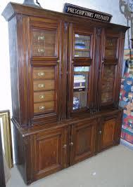 antica credenza antica credenza vetrina libreria mobile da farmacia a 2 corpi
